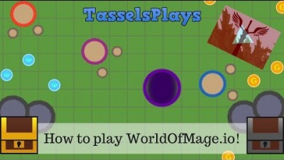 How to Play WorldofMage.io *NEW IO GAME*