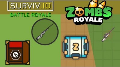 How ZombsRoyale.io Copies Surviv.io And Other Games...