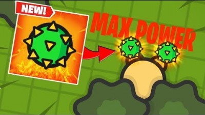 HUGE 100% POWER CACTUS DAMAGE in ZombsRoyale.io!