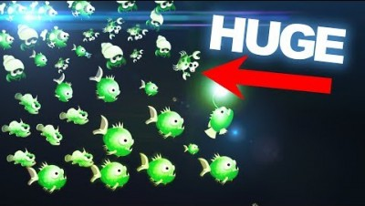 HUGE FISH SWARM! // Oceanar.io *New .IO Game*