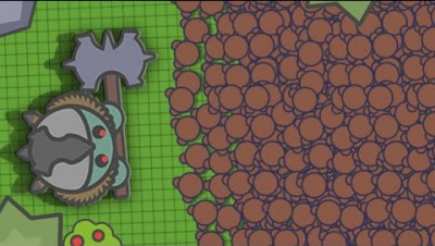 HUGE HACKED 999 BOT ARMY vs. 1 BOSS in Moomoo.io!   Who will win?   Moomoo.io Epic Hacked Battle