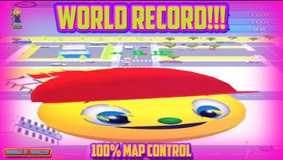 HUNGER.IO [WORLD RECORD PACMAN] SOUL.IO 2 | 100.00% MAP CONTROL - NEW IO GAME +900 HIGH SCORE!!!