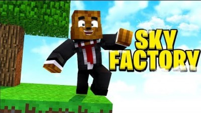 I CAN'T TRUST ANYONE ON THIS BLOCK - MINECRAFT SKY FACTORY 4 MOD PACK #1