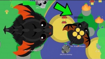 i got KING DRAGON in mope.io and this happened...