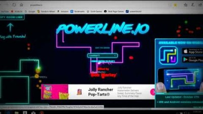 I Love This Game... but I am bad at it. - powerline.io Gameplay #3