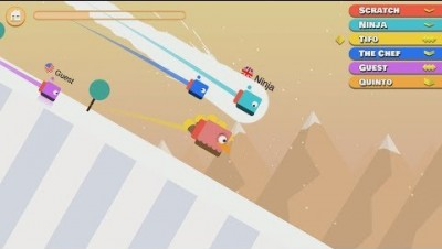 Ice Racing.io All Stages - New io Game