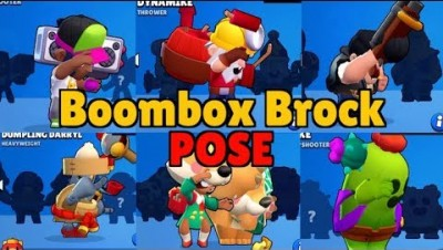 If every Brawler had Boom Box Brock's pose!