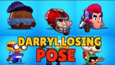 If every Brawler had Darryl's Losing Pose!
