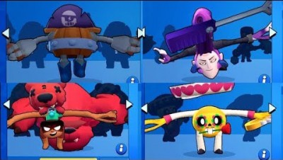 If every Brawler had Darryl's pose! (mortis will give you nightmares)