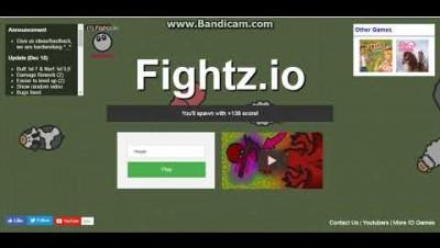 играем в новую игру FIGHTZ.IO (волшебник неудачник)