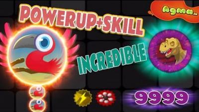 Incredible Skills + Powerups *AGMA.IO*
