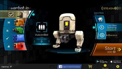 Infinite battle of hundred robots! - Warbot.io