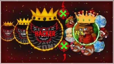 Insane hacker moments on agma.io! (+Afk Troll+)
