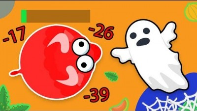 Invisible GHOSTS EAT you in MOPE.IO