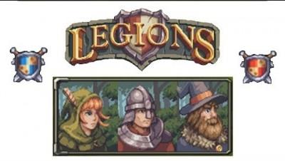 ИОШКА Legions io Лучник Маг и Рыцарь Сошлись в Жестокой Битве