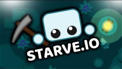 [ИОШКА]Starve io  Старв ио Напал Большой Паукай или игра survival