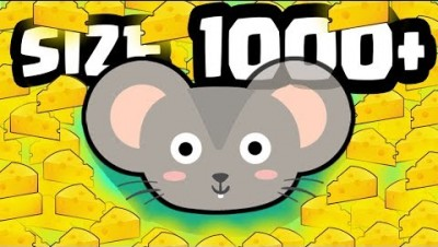 IS THIS THE BIGGEST 1000+ SIZE MOUSE? (1000+ MOUSE LEVEL ARMY) l Catmouse.io New .IO Games