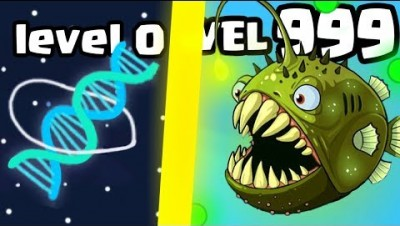 IS THIS THE MOST OVERPOWERED FISH MONSTER EVOLUTION? (9999+ DNA LEVEL) l Eatme.io New .IO Games