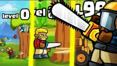 IS THIS THE STRONGEST  LUMBERJACK EVOLUTION? (9999+ ANIMAL LEVEL) l Lumberwhack: Defend the Wild
