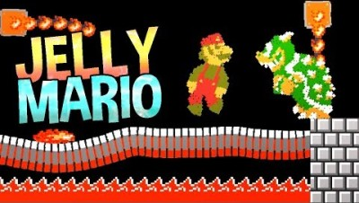 JELLY MARIO UPDATE! MORE LEVELS! - Jelly Mario Gameplay