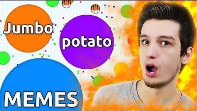 Jumbo, Agar.io, Potato and Memes