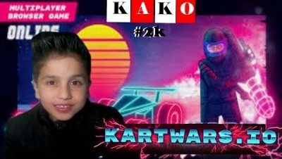 KartWars.io Gameplay - KartWars.io melhor corrida - KartWars.io Game -  Como jogar Kartwars.io -KAKO