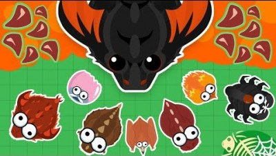 KING DRAGON Dominates the SERVER in MOPE.IO