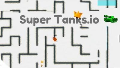 King of the Maze: Supertanks.io!