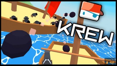 Krew.io - MASSIVE SHIP! - Sinking The Biggest Ship! - Krew Multiplayer Raft Game - Krew.io Gameplay