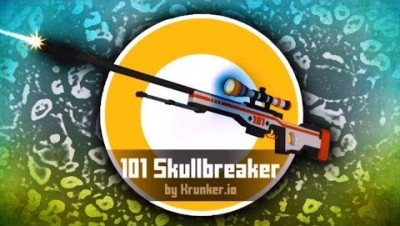 Krunker.io 101 SKULLBREAKER & RARE SKINS GAMEPLAY (Krunker Best Moments)