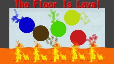 Laaaava.io - The Floor Is Lava - Bonk & Collide to Win