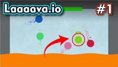 Laaaava.io - The Floor is Lava - JOGO DIVERTIDO - Gameplay #1