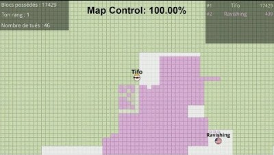 Landix.io [Paper.io] Map Control: 100.00% World Record