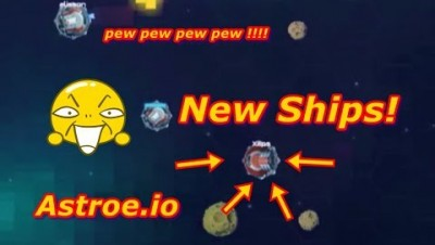 Laser Tag, Nonsense & New Ships Astroe.io