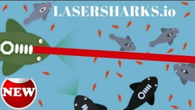 Lasersharks.io - New IO GAME / EPIC Sharks war under the sea - lasersharks.io gameplay