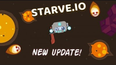 LAVA UPDATE! Reidite & Lava Biome | Starve.io gameplay