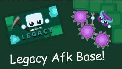 Legacy mode Base build! | Starve.io gameplay