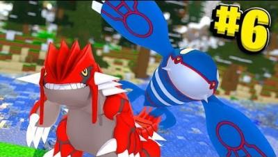 Legendary Pokemon Groudon & Kyogre - Minecraft Pixelmon Island SMP- Pokemon Mod #6 | JeromeASF