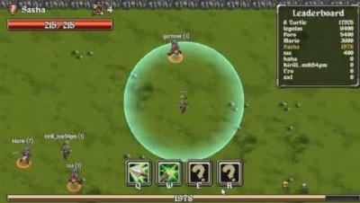 Legions.io Game Review Gameplay Archer vs Warrior vs Mage Legionsio