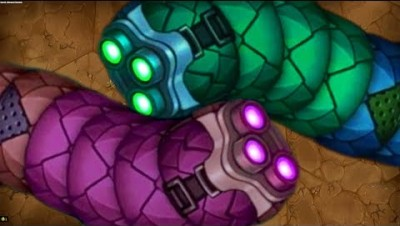 Little Big Snake 1 Giant Monster vs. 1 Giant Invasion Worms Epic Littlebigsnake.io Best Gameplay!2K