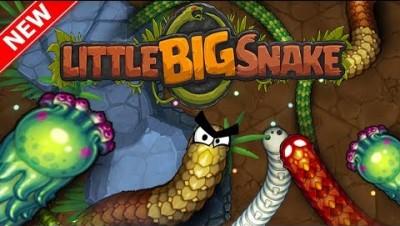 LITTLEBIGSNAKE.IO BIGGEST SNAKE!! // New .io Game (Like Slither.io/Wormax.io)