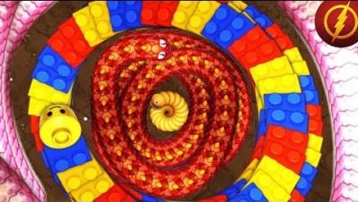 LittleBigSnake.io Shorty Master Snake Vs 99991 Giant Snakes / Epic LittkeBigSnake Funny Moments