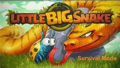 Littlebigsnake.io (Slither.io) Survival Mode