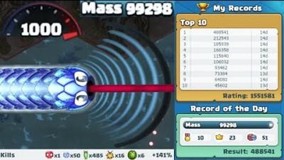 Littlebigsnake.io - The Fastest Highscores Achieved (30K+ Mass, 100K+ Highscores)