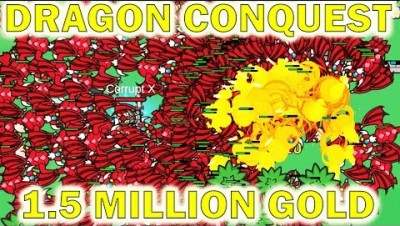 Lordz.io 2.0 - The Dragon Conquest Begins (1.5 Million Gold)