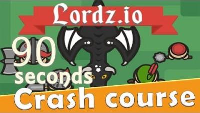 Lordz.io in 90 seconds! ( Tip & Tricks included ) | #Random.io Crash Course 39 | Lordzio