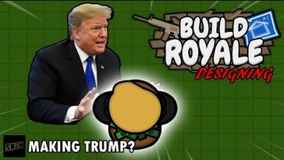 Making Trump as a BuildRoyale.io Skin??