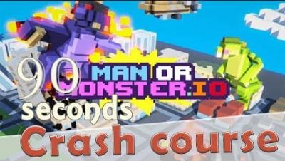 ✔ ManOrMonster.io in 90 seconds! (Tip & Tricks included)| #Random.io Crash Course 26| ManOrMonsterio