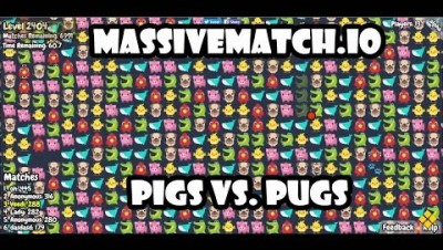 MassiveMatch.io Walkthrough - Pigs Vs. Pugs