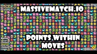 MassiveMatch.io Walkthrough - Points within moves